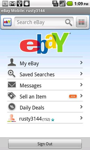 Official eBay Android
