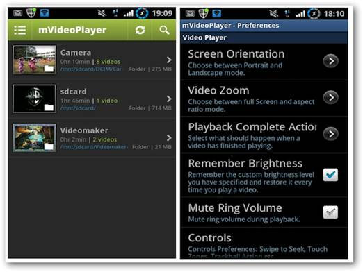 mVideo Player