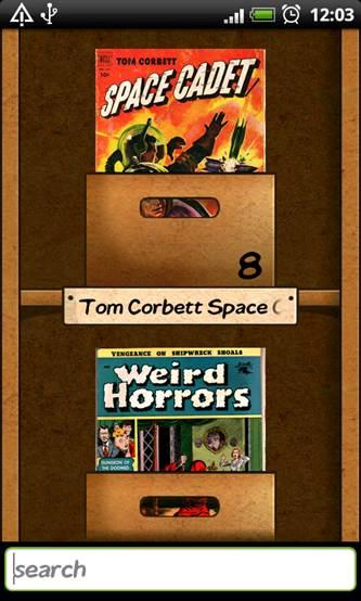 Vintage Comics Droid