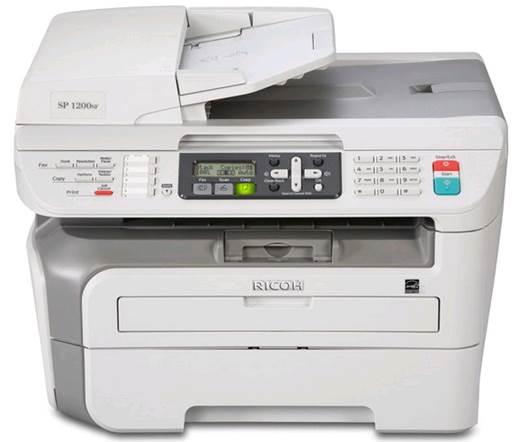 Ricoh Aficio 1200S Color Laser Printer