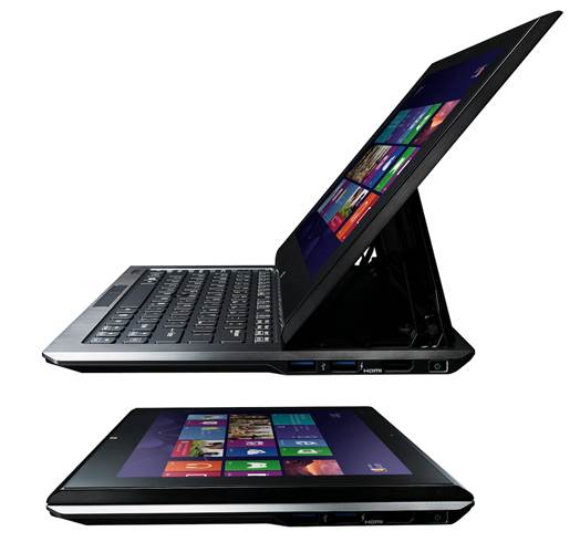 Vaio Duo 11 is a convertible notebook, which means it func¬tions as a laptop and a tablet, as and when you'd like it.