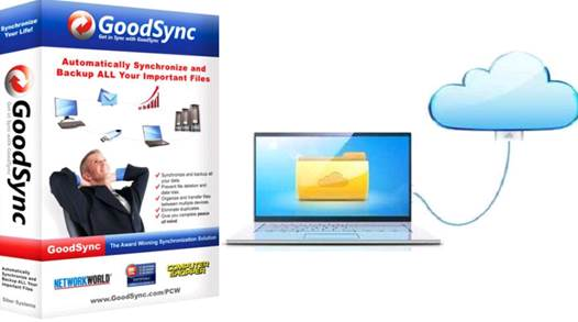 How to back up your cloud computing storage using GoodSync