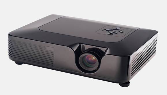A Full HD LCD projector