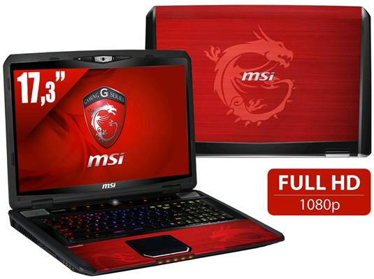MSI GT70 Dragon Edition Gaming Laptop Review (Part 2