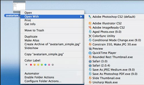 If you always like to open JPEGs with Pixelmator, or want Word documents to open with Pages, you can change the setting for all files of the same type with just a couple of clicks.