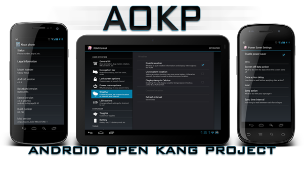 Description:  Android Open Kang Project