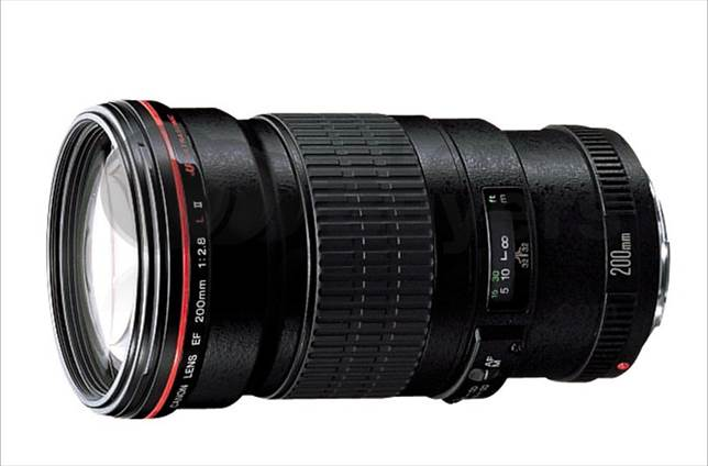 Description: Canon EF 200mm f/2.8L II USM