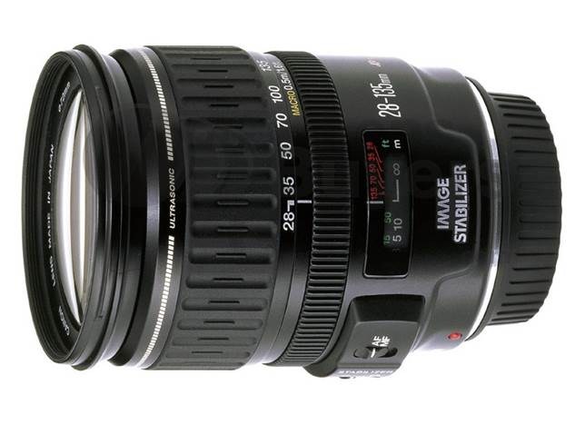Description: Canon EF 28-135mm f/3.5-5.6 IS USM
