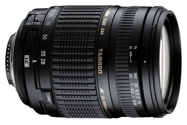 Description: Tamron 28-300mm f/3.5-6.3 XR Di VC