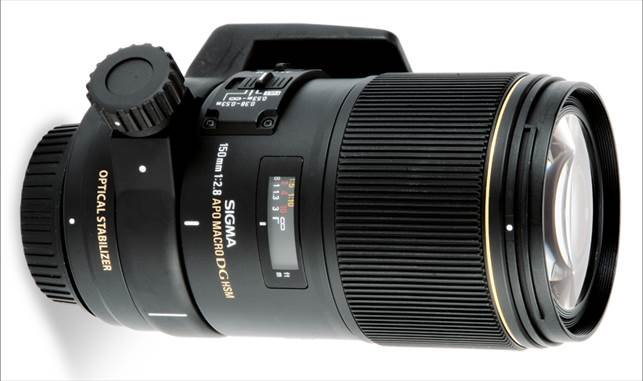 Description: Sigma 150mm f/2.8 EX DG HSM Macro