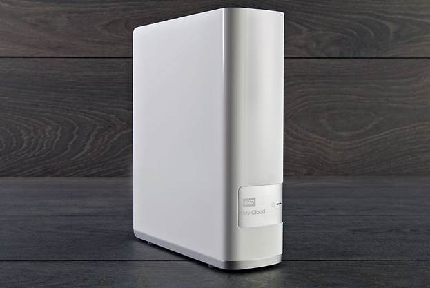 WD's My Cloud delivers the best of both worlds. It's a hard drive that connects to my home network, so it's as secure as I can make it. But I can access it from the Internet — from a PC, smartphone, or tablet — just like a cloud service.