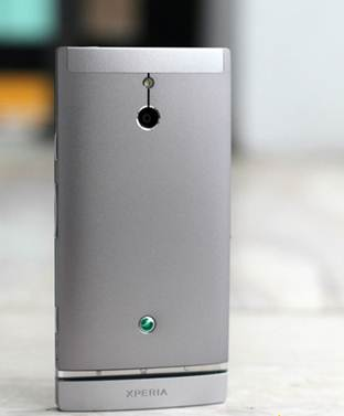 Description: Xperia P with aluminum monolithic cover