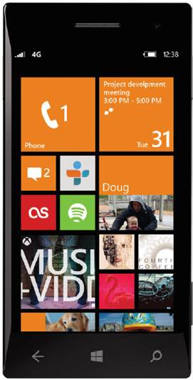 Windows Phone 8 features customizable tiles, so you can change the size and configuration of Live Tiles based on your personal preference. Most tiles have three different size options ranging from small to large.