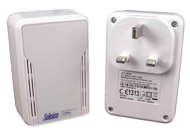 SmartLink HomePlug adapters are designed for situations where the mains wiring is noisy