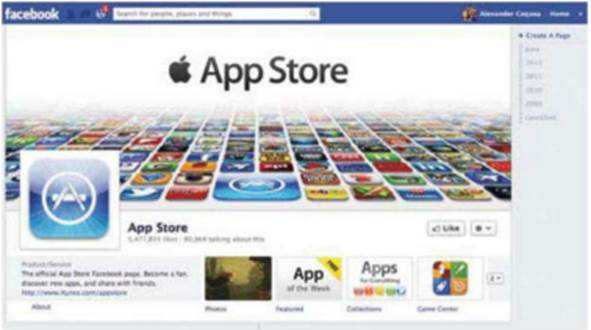 App Store on Facebook