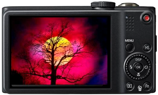 This compact camera is able to record 1080p full HD @ 30 fps Movies with a maximum recording time of 20 minutes