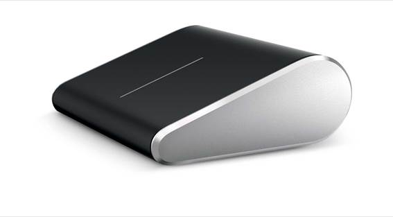 Microsoft Wedge Touch Mouse - Windows 8-Friendly Four-Way Scrolling Anywhere