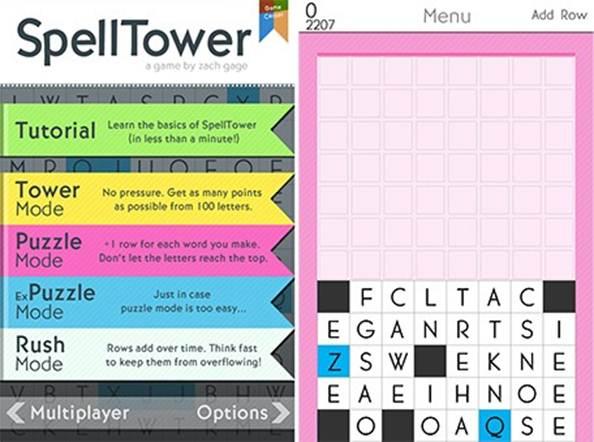 Description: SpellTower